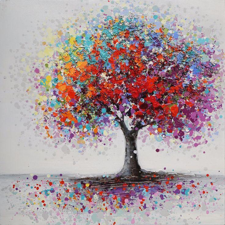 Tempsa Verzierung Die Buntes Baum Muster Fur Zeichnet