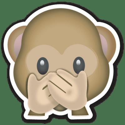 Monkey Hidden Face Emoji Emoticonos Emoticones Emoji Emoticones De Whatsapp