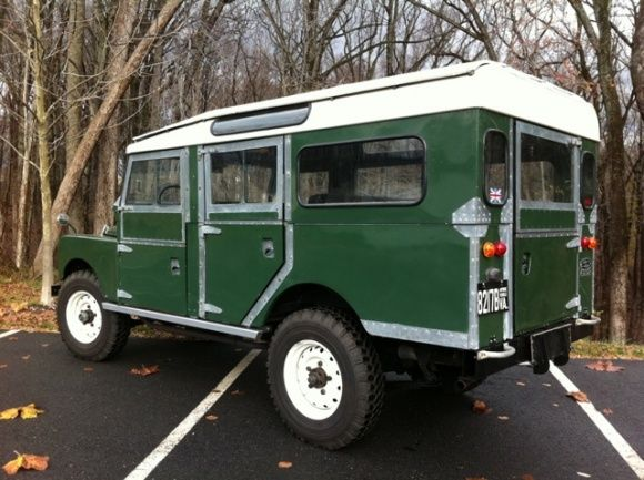 1958 Land Rover Series 1 Station Wagon 107