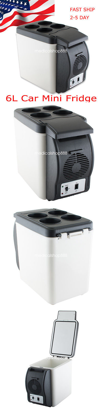 12-Volt Portable Appliances: From Usa!6L Car Refrigerator Fridge ...