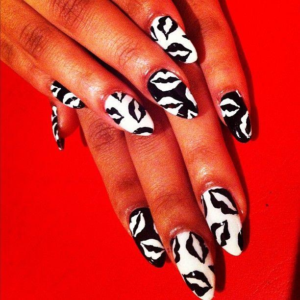 ☆▫Nails☆▫   I ♡ Nail Art...   Pinterest   Lips