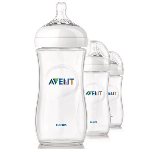 Avent Natural 11oz Bottle 3 Pack Polypropylene By Avent At Babyearth Com 22 50 Avent Natural Bottles Best Baby Bottles Natural Baby Bottle