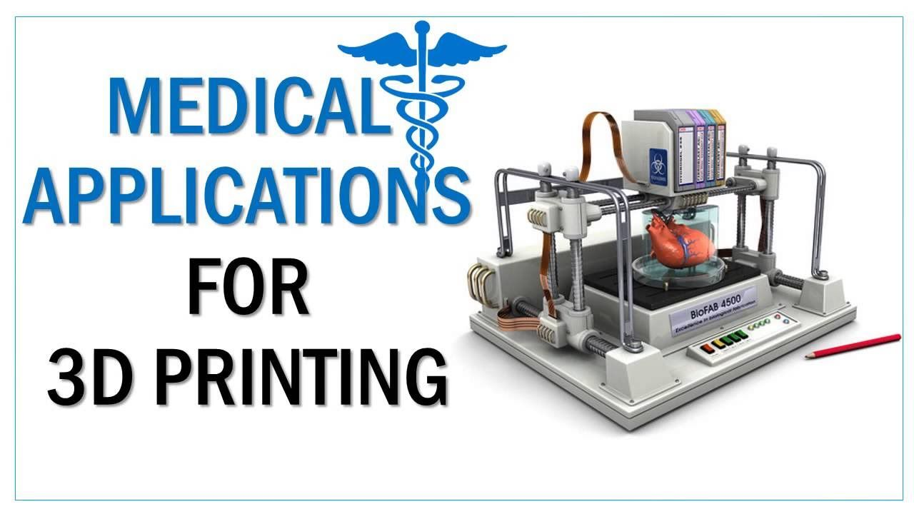Medical Applications For 3d Printing Ppt Youtube 3d Printing Prints Medical