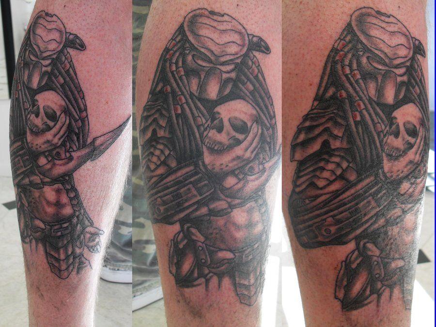 51 Deadliest Predator Tattoo Designs Ideas For Men: Predator Tattoo, Tattoos, Predator