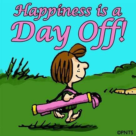 Happiness A Day Off Golf Humor Golf Quotes Peppermint Patties