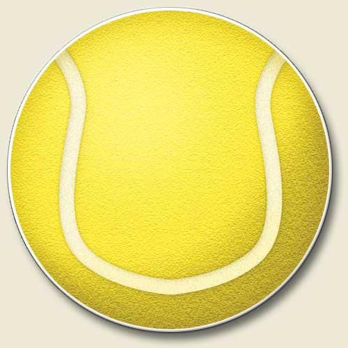 No more sticky cupholders. Tennis Car Coaster. https://www.facebook.com/riverroadpharmacyandgifts