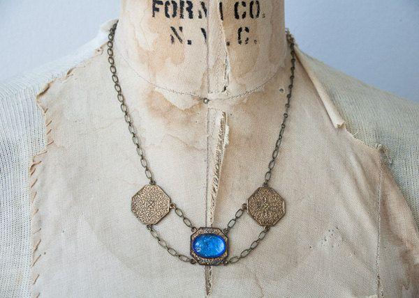 vintage 1920s necklace