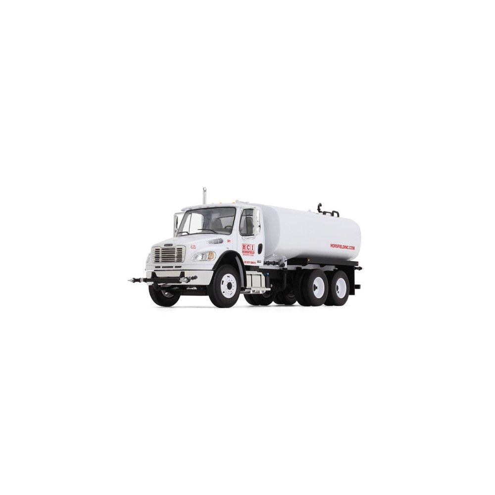 Freightliner M2 106 Water Tank Truck Horsfield Construction Hci 1 34 Diecast Model By First Gear In 2021 Water Tank Truck Diecast Models Freightliner