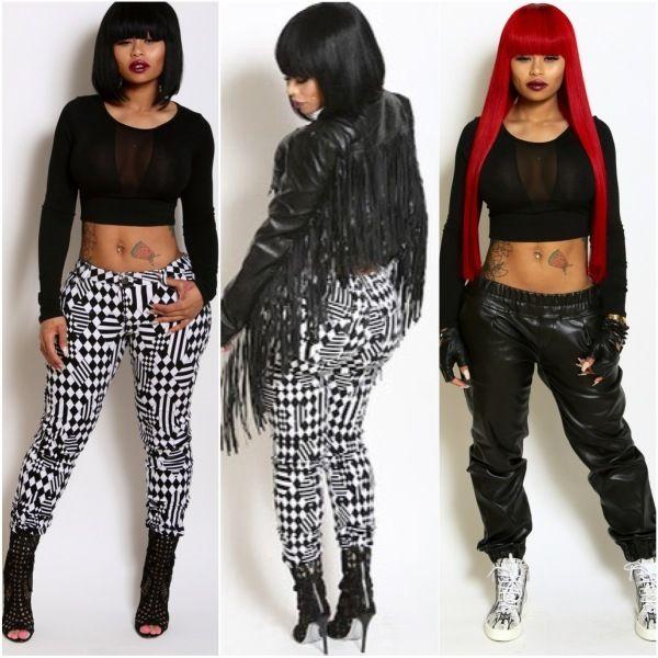 Ballerific Fashion:Blac Chyna Presents New Clothing Line