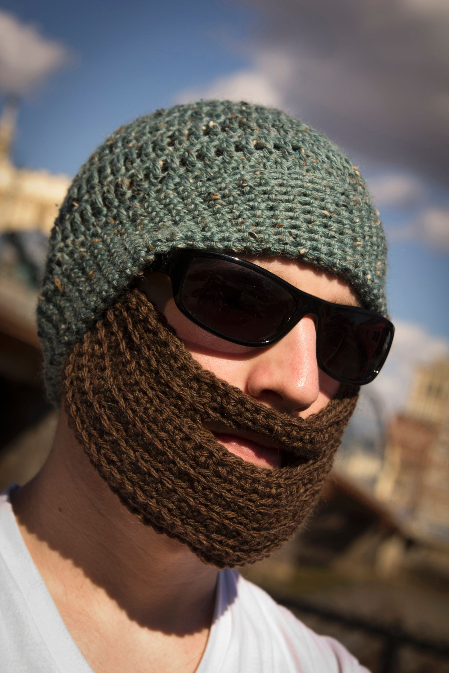 Crochet Bearded Hat Knitting Patterns And Crochet
