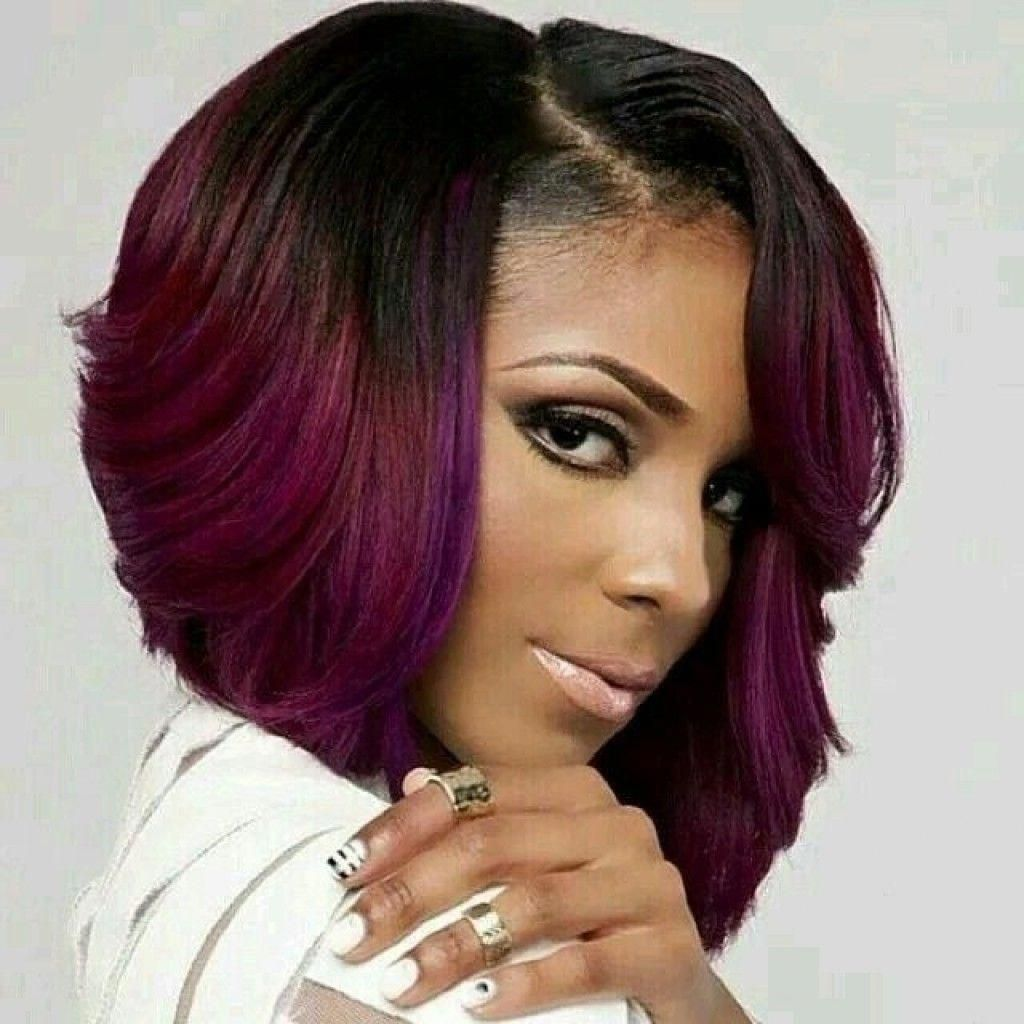 15 Chic Short Bob Hairstyles: Black Women Haircut Designs