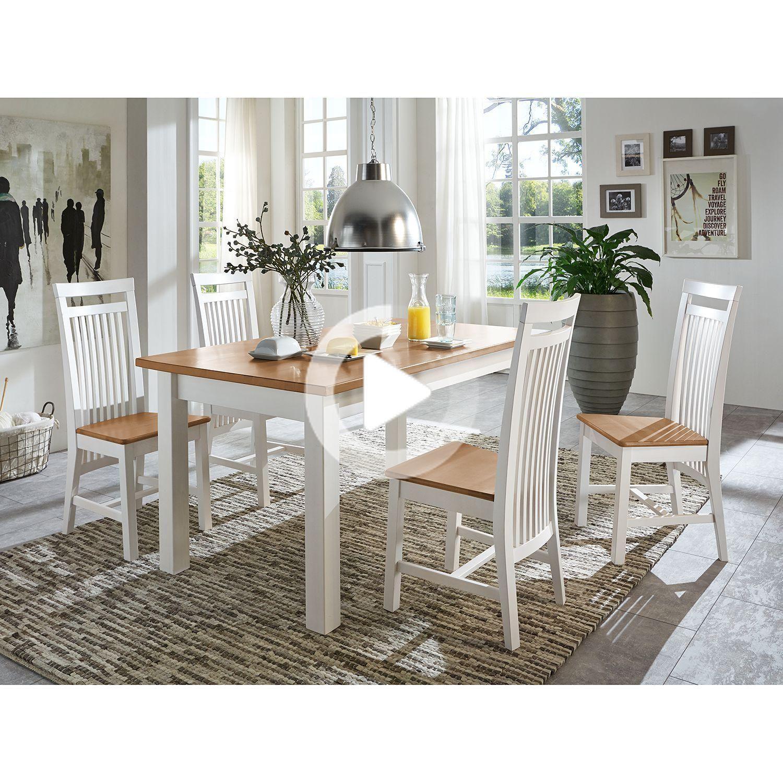 ダイニングテーブルボストンI in 2020 Farmhouse dining table set
