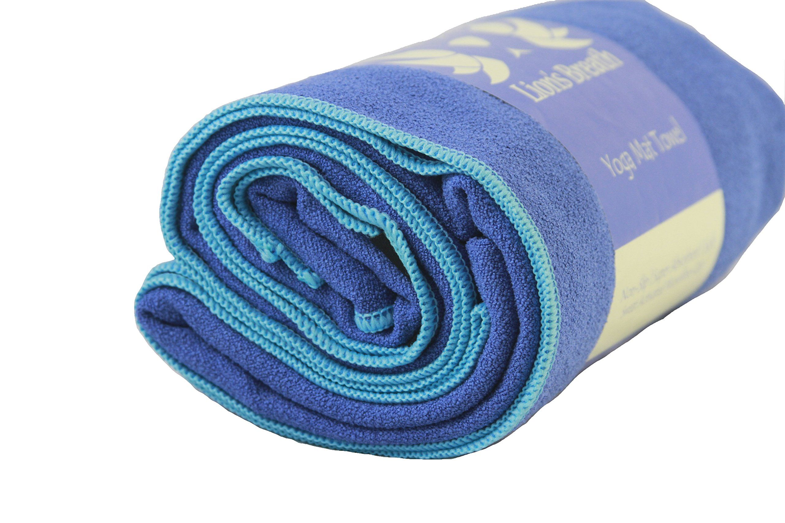non slip id grey domyos by greyturquoise decathlon towels turquoise towel absorbent yoga mats mat