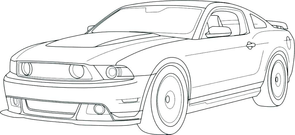 Cool Race Car Coloring Pages Race Car Coloring Pages Mustang