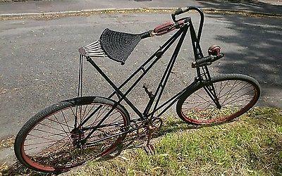 Dursley Pedersen Vintage Bicycle Antique Vgc 1907 No4 Gentleman S Bike Bicycle Vintage Bicycles Pedersen Bicycle