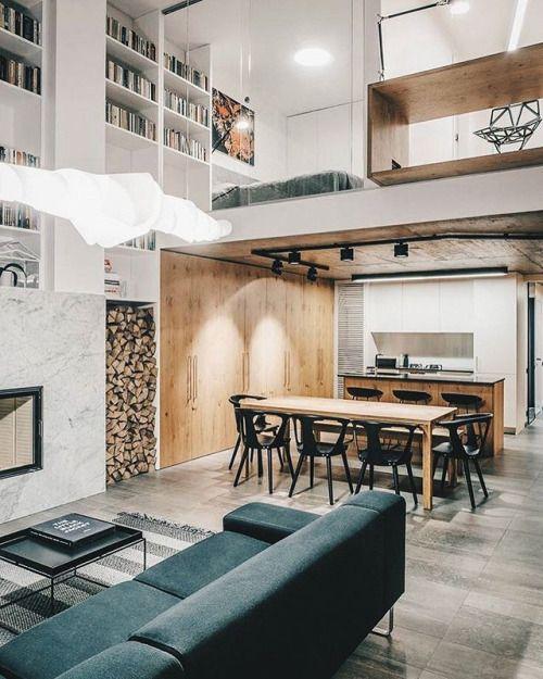 allofarchitecture industrial loft by dalia jakeliunaite rh pinterest com