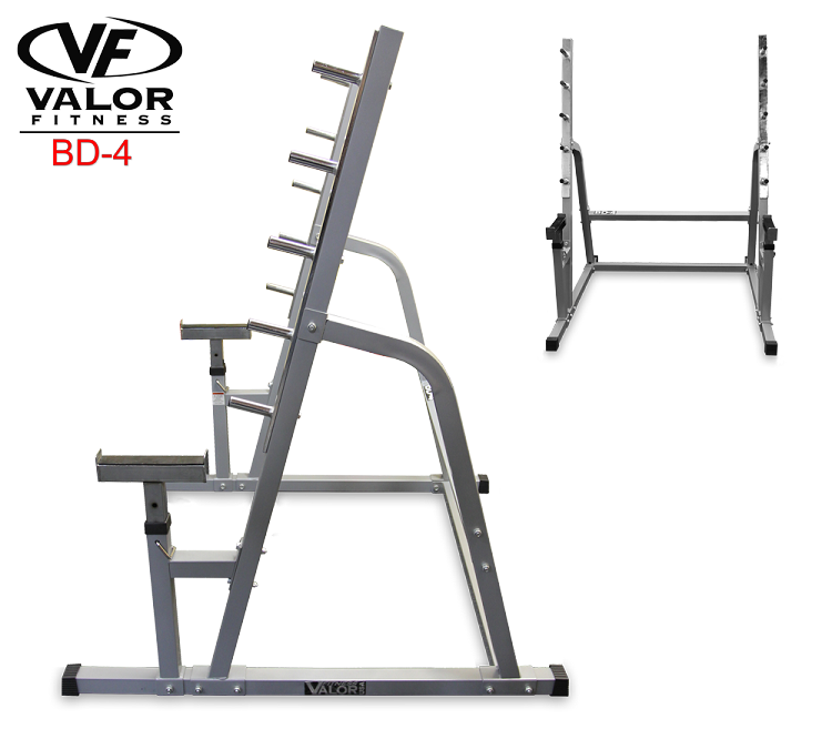 Valor Fitness BD4 Squat/Bench Combo Rack Squats