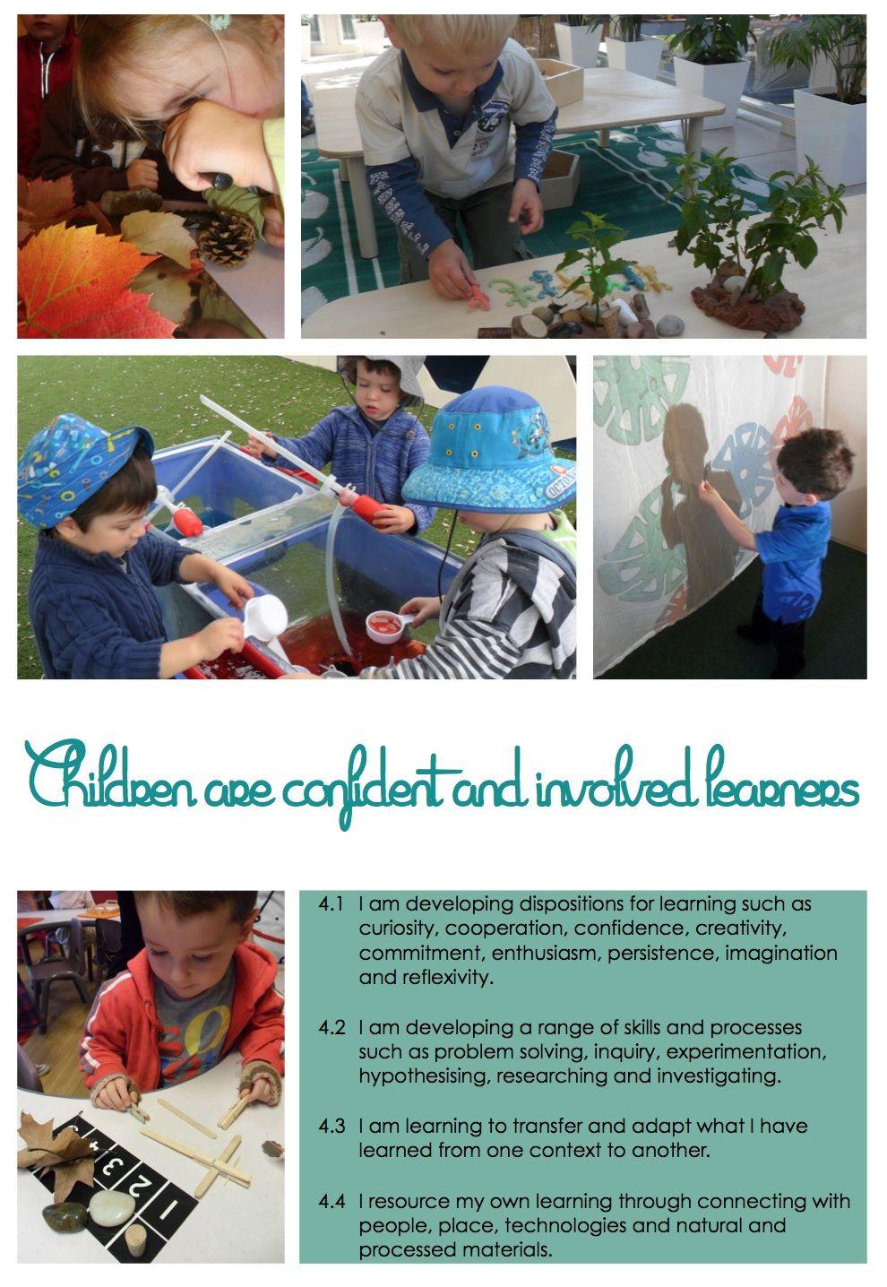 Kinder Garden: EYLF Posters @ New Horizons Preschool