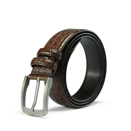 Heepliday Mens Casual Genuine Leather Belt For jeans 1.5 Wide