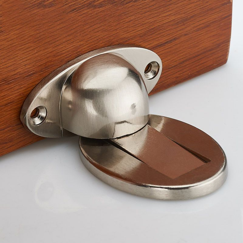 New Magnetic Door Holder Stopper Invisible Doorstop Wall Mounted