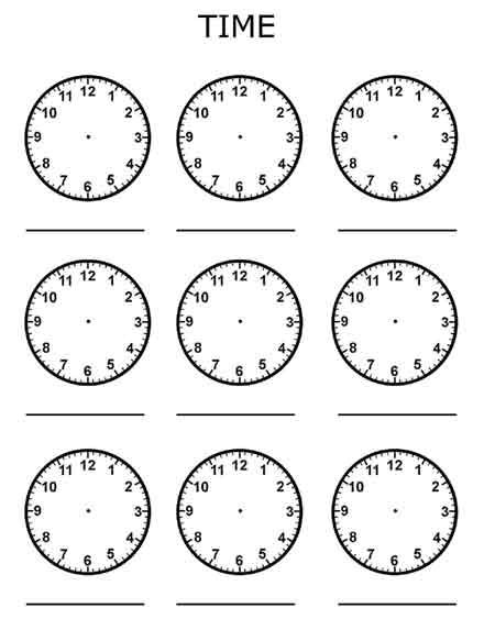Time Worksheets » Free Printable Time Worksheets - Free Printable ...