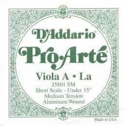 D'Addario Pro Arte Viola A String by Pro Arte (D'Addario). $17.50. D'Addario Pro Arte Viola A String