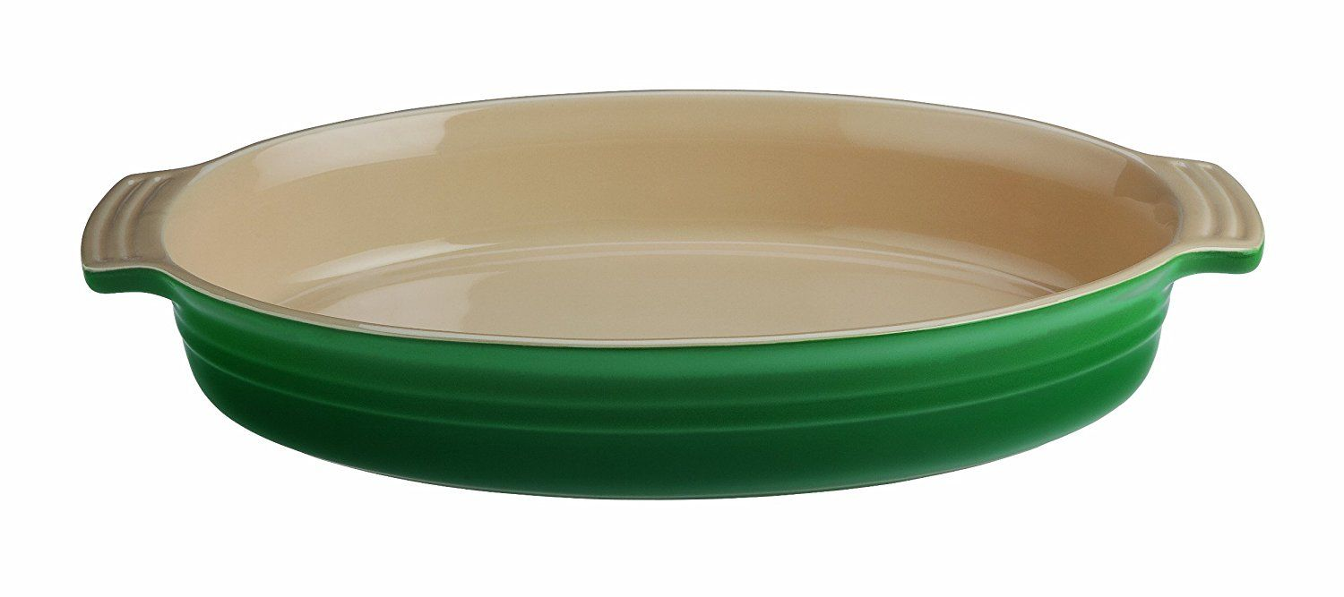 Le Creuset Stoneware 14 Inch Oval Baking Dish Fennel Find Out More About The Great Product At The Image Link Le Creuset Stoneware Baked Dishes Le Creuset Le creuset oval baking dish