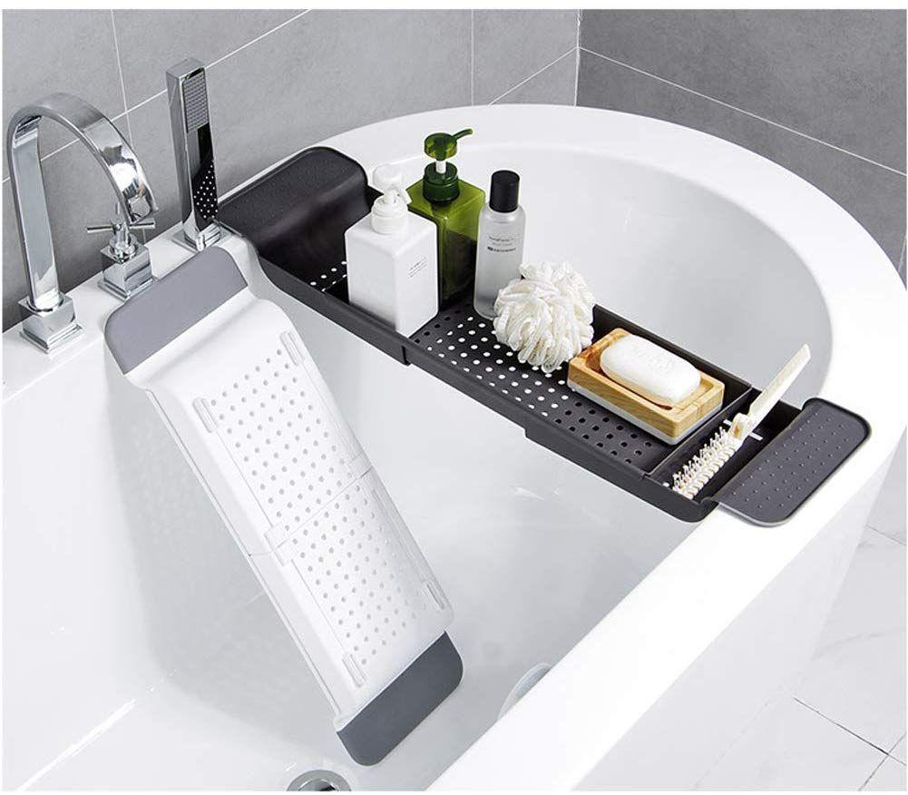 Badezimmer-Badewannenrahmen Teleskop-rutschfester Kunststoff