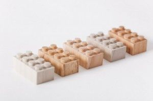 Mokulock Wooden Bricks – White Rabbit Japan
