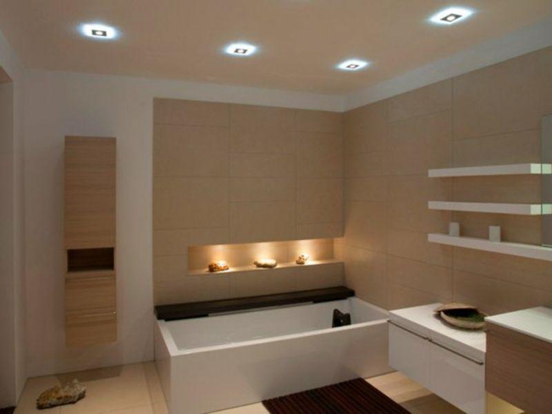 Bildergebnis Fur Deckenbeleuchtung Led Badezimmer Badezimmer Led Badezimmerideen