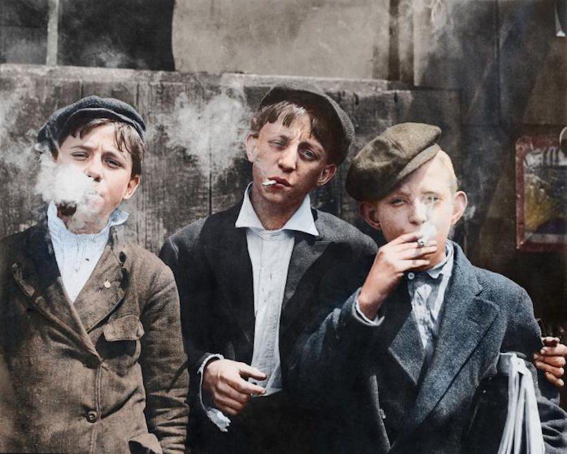 En images : quand les enfants travaillaient dans les mines américaines