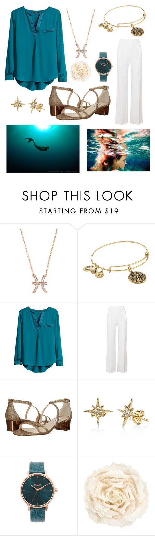 """""""Pisces"""" by dancingqueen31903 ❤ liked on Polyvore featuring Latelita, Alex and Ani, H&M, Roland Mouret, Nina, Nixon and Gucci"""