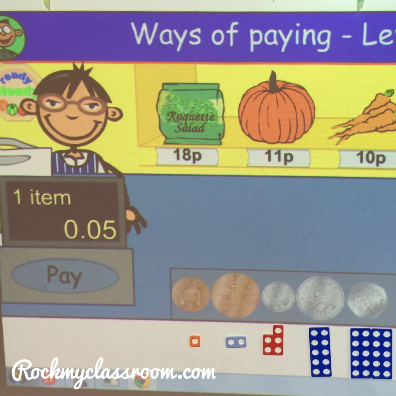 Using Numicon To Teach The Concept Of Money In The Eyfs