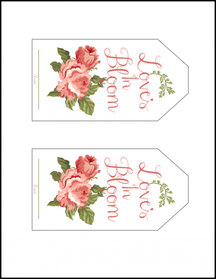 picture regarding Gift Tag Printable Free referred to as Bridal Sower Printable Present Tag Printables Bridal shower
