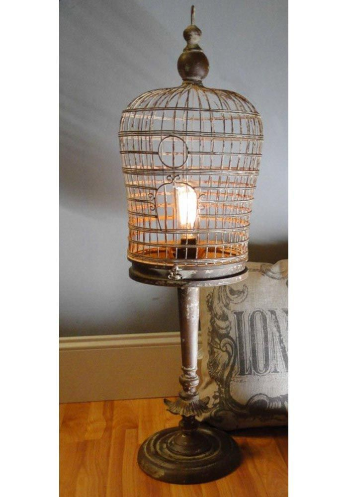 Bird Cage Table Lamp Bird Cages Bird Cage Cage Birds