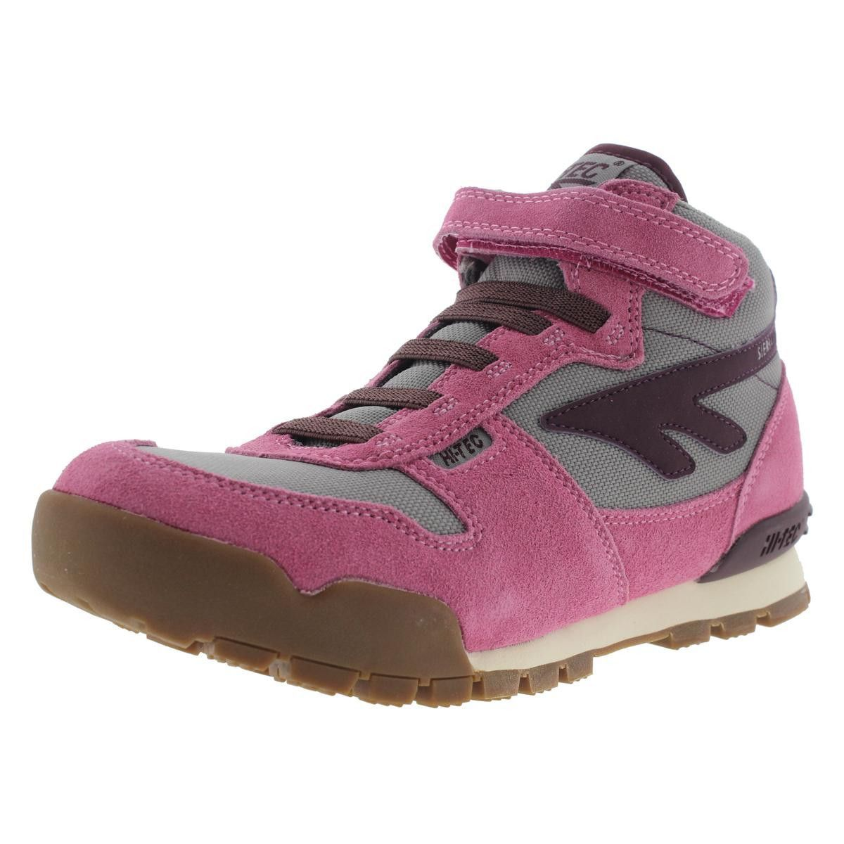 Hi-Tec Girls Sierra Lite Original JR Suede Mesh Hiking Boots