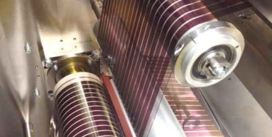 Paper Thin Printed Solar Cells Could Provide Power For 1 3