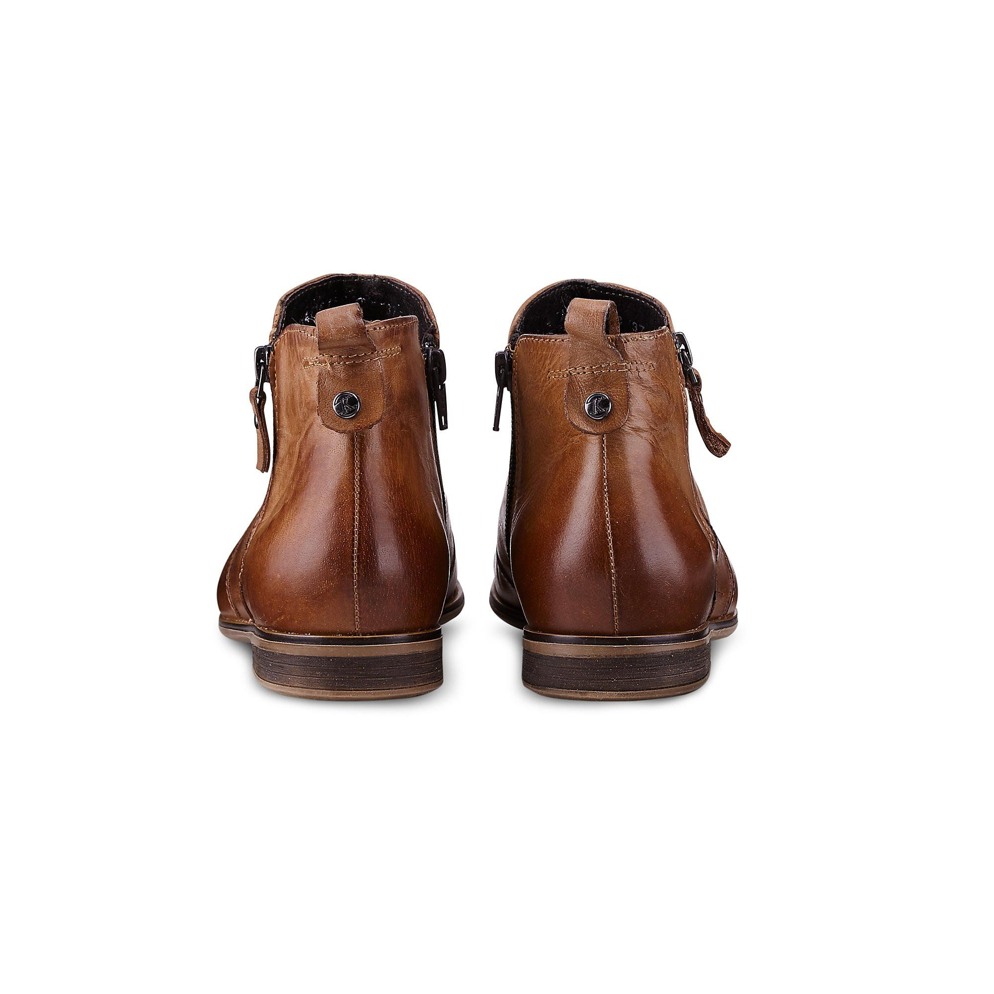 e3956651b44e03 Cox Damen Trend Bootie aus Leder