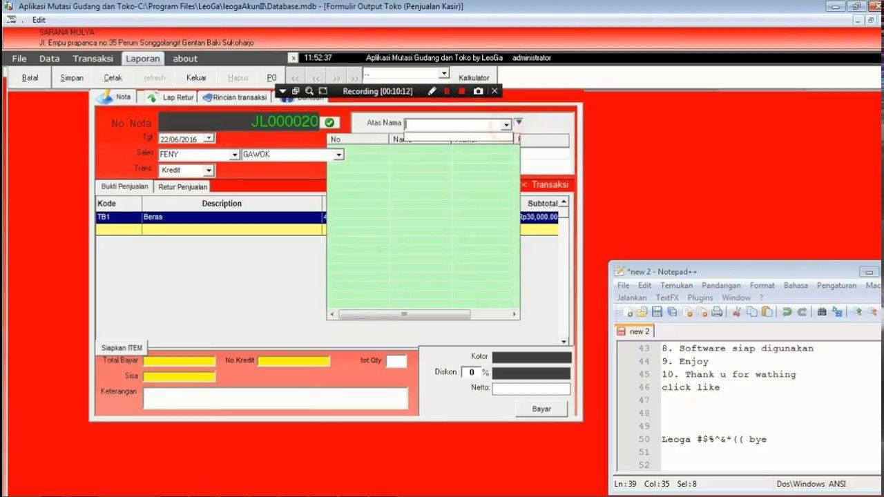 Tutorial Instalasi Software Gudang Inventory Software Software Tutorial Inventory