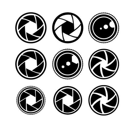 Beyond The Focus Camera Shutter Logo Design Camera Logos Design Lens Logo Camera Logo