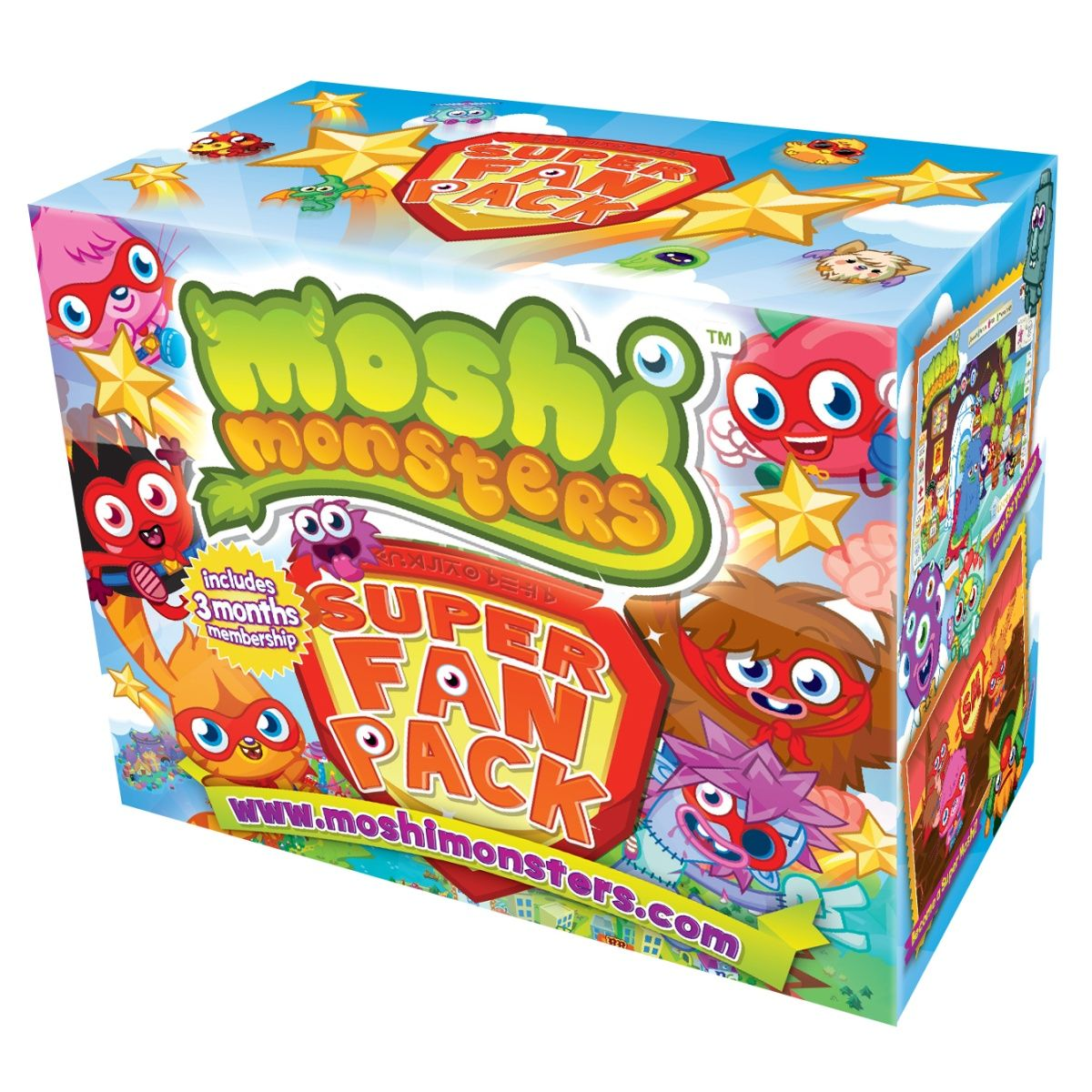 Moshi Monsters Super Fan Pack Top Toy Store in UK