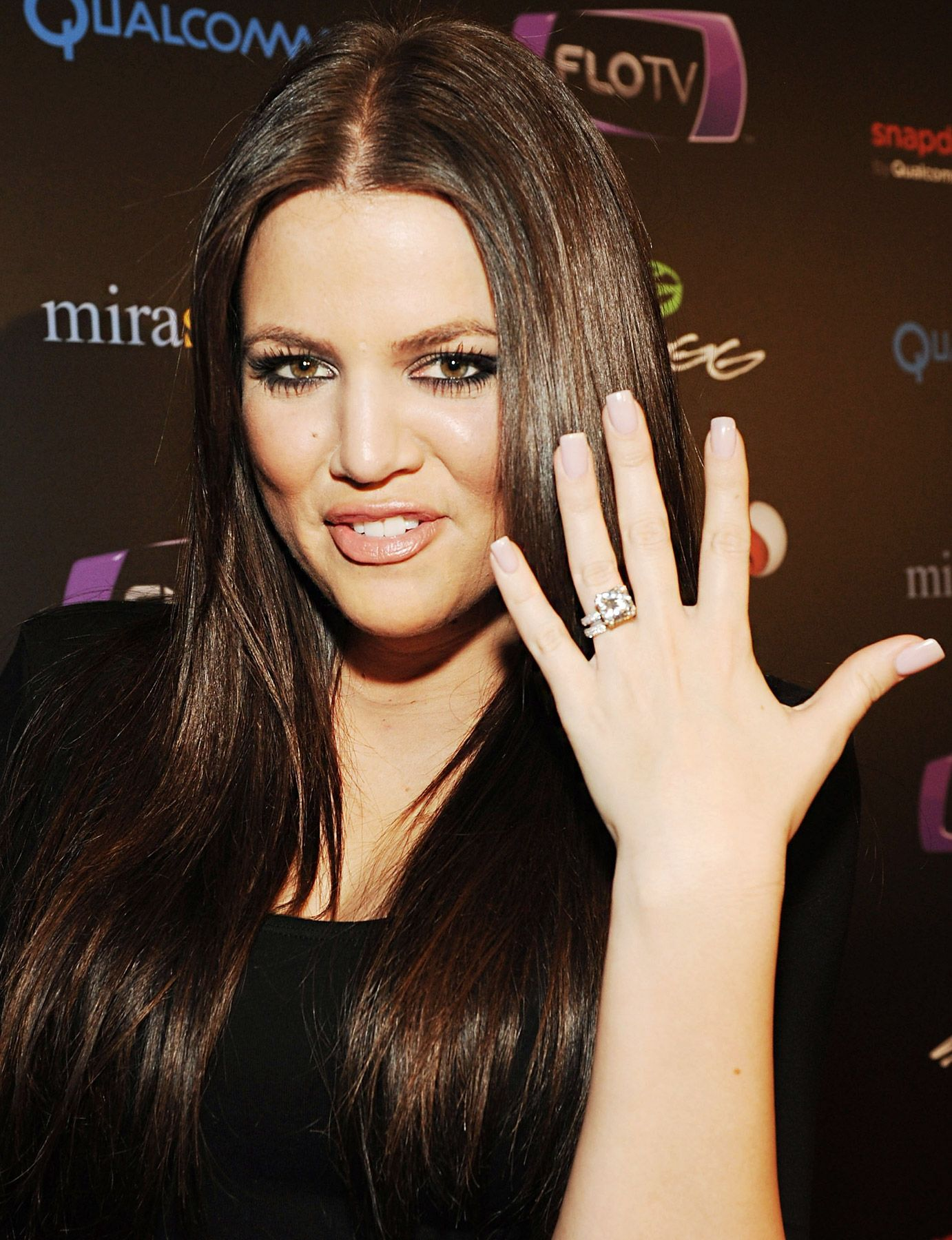 Pictures Of Celebrities Best Celebrity Engagement Rings All Time Khloe