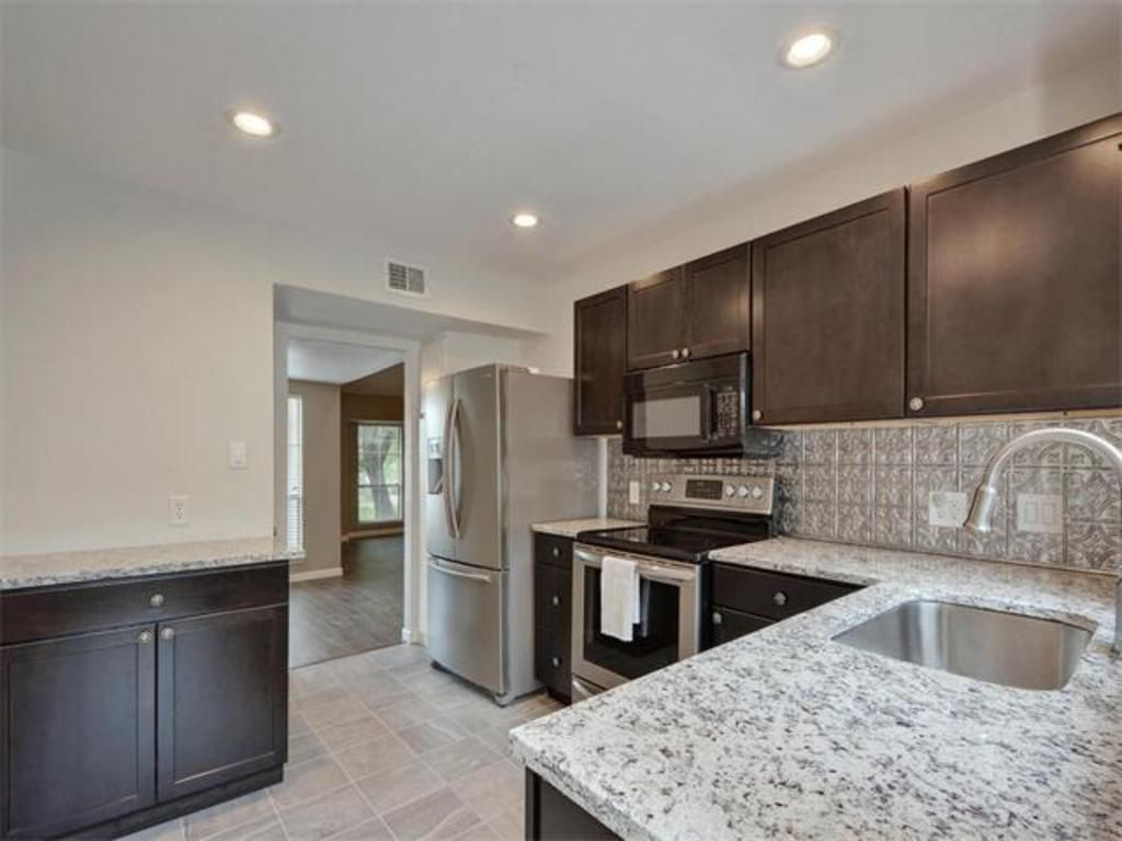 Granite Counter Tops, Updated Cabinets, Stainless Appliances, Wood Floors  And Updated Fixtures 1702. Stainless AppliancesGranite CountersAustin  TxCounter ...