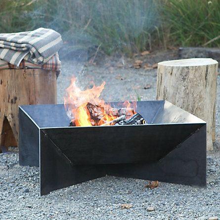 Geometric Fire Pit