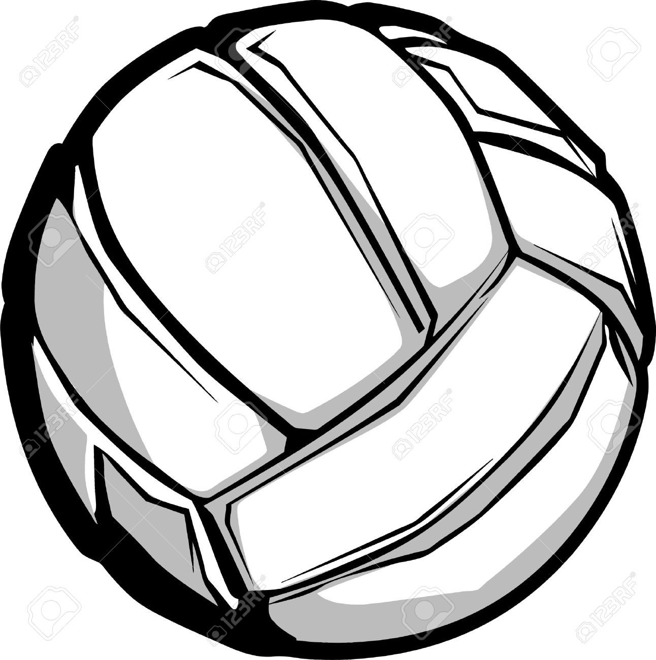 Volleyball Vector Image Volleyball Clipart Volleyball Free Clipart Images
