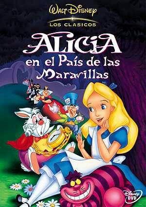 Alicia En El Pais De Las Maravillas Peliculas De Disney Carteles De Peliculas De Disney Peliculas De Disney Pixar