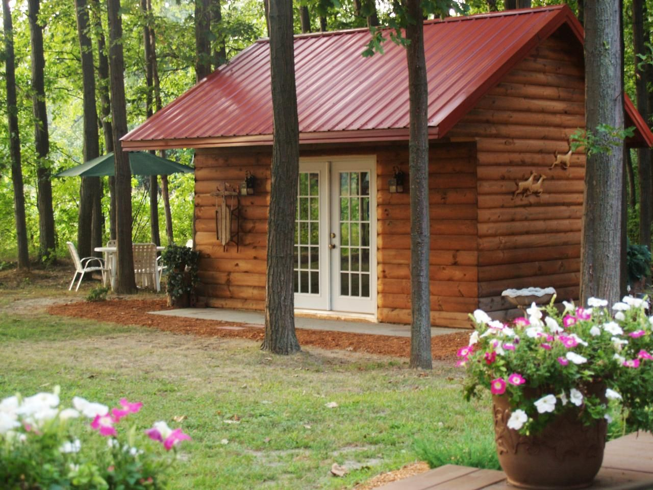 retreat in style with these lady loving she sheds hgtv