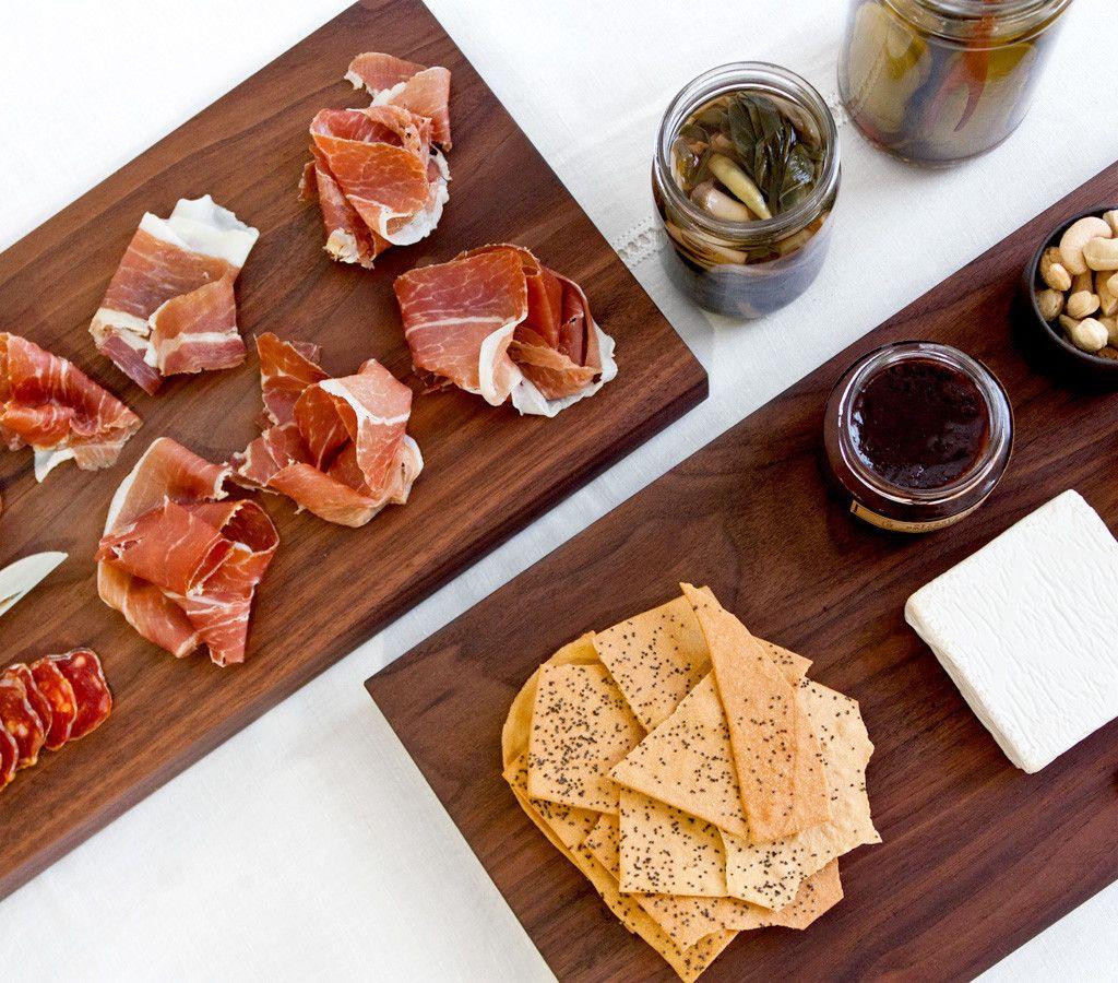 Medium Black Walnut Kitchen Board Charcuterie And Cheese Board Kitchen Board Food Beverage