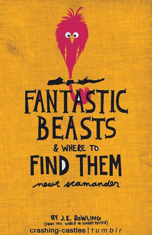 fantastic beasts book cover hp diagon flourish blotts books  harry potter art mine design school project book cover redesign quidditch through the ages tales of beedle the bard fantastic beasts and where to them