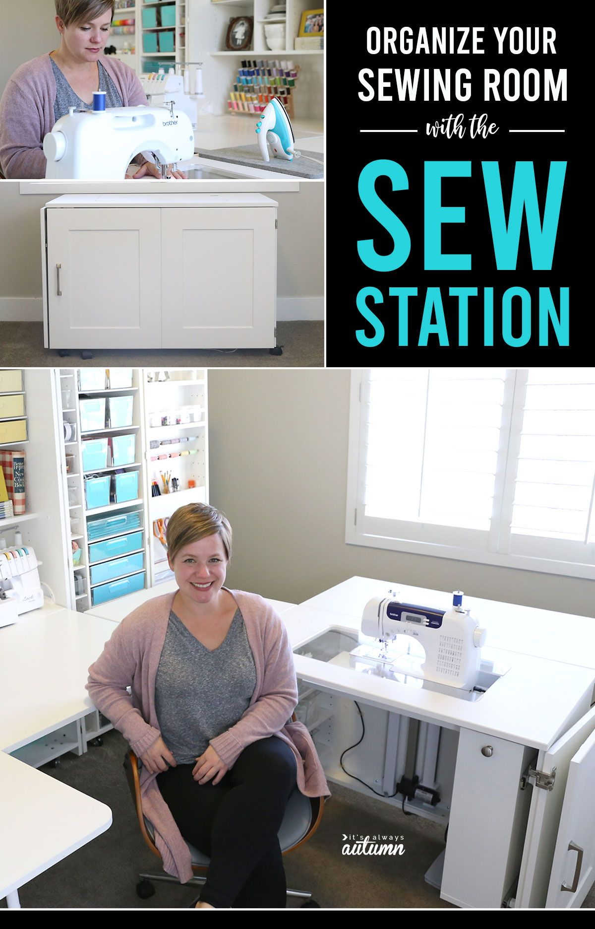 Organize your Sewing Room with the Sew Station + DreamBox